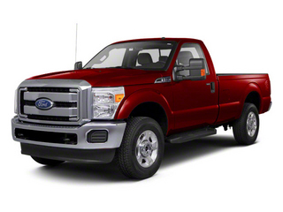 Vermillion Red 2011 Ford Super Duty F-250 SRW Pictures Super Duty F-250 SRW Regular Cab XL 4WD photos front view