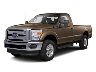 Pale Adobe Metallic 2011 Ford Super Duty F-250 SRW Pictures Super Duty F-250 SRW Regular Cab XL 4WD photos front view