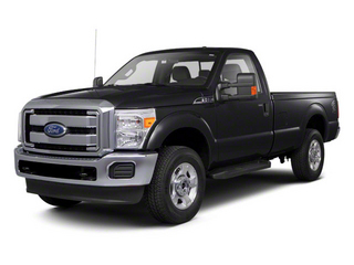 Tuxedo Black Metallic 2011 Ford Super Duty F-250 SRW Pictures Super Duty F-250 SRW Regular Cab XL 4WD photos front view
