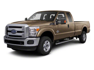Pale Adobe Metallic 2011 Ford Super Duty F-350 DRW Pictures Super Duty F-350 DRW Supercab XLT 2WD photos front view