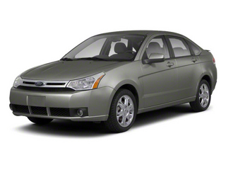 Sterling Grey Metallic 2011 Ford Focus Pictures Focus Sedan 4D SEL photos front view
