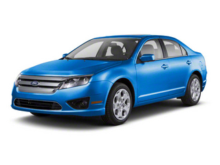 Blue Flame Metallic 2011 Ford Fusion Pictures Fusion Sedan 4D Sport AWD photos front view