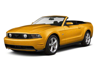 Yellow Blaze Metallic Tri-Coat 2011 Ford Mustang Pictures Mustang Convertible 2D GT photos front view