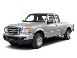 Silver Metallic 2011 Ford Ranger Pictures Ranger Supercab 4D Sport photos front view