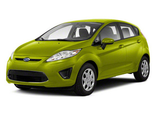 Lime Squeeze Metallic 2011 Ford Fiesta Pictures Fiesta Hatchback 5D SE photos front view