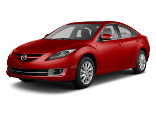 Sangria Red Mica 2011 Mazda Mazda6 Pictures Mazda6 Sedan 4D i Touring Plus photos front view