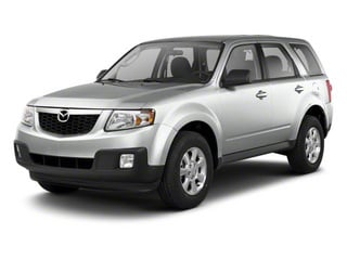 Ingot Silver 2011 Mazda Tribute Pictures Tribute Utility 4D s 4WD photos front view