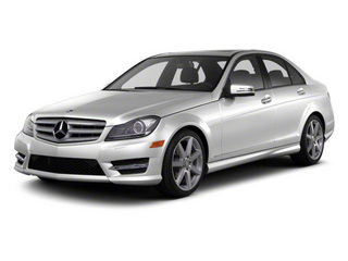 Iridium Silver Metallic 2011 Mercedes-Benz C-Class Pictures C-Class Sport Sedan 4D C350 photos front view
