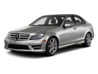 Palladium Silver Metallic 2011 Mercedes-Benz C-Class Pictures C-Class Sport Sedan 4D C350 photos front view
