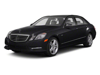 Black 2011 Mercedes-Benz E-Class Pictures E-Class Sedan 4D E550 AWD photos front view