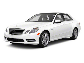 Arctic White 2011 Mercedes-Benz E-Class Pictures E-Class Sedan 4D E550 AWD photos front view