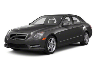 Steel Grey Metallic 2011 Mercedes-Benz E-Class Pictures E-Class Sedan 4D E550 AWD photos front view