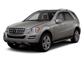 Palladium Silver Metallic 2011 Mercedes-Benz M-Class Pictures M-Class Utility 4D ML350 2WD photos front view