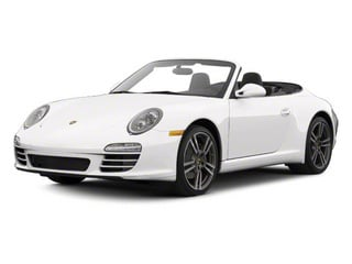 Platinum Silver Metallic 2011 Porsche 911 Pictures 911 Cabriolet 2D photos front view