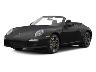Black 2011 Porsche 911 Pictures 911 Cabriolet 2D photos front view