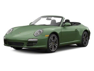 Porsche Racing Green Metallic 2011 Porsche 911 Pictures 911 Cabriolet 2D S photos front view