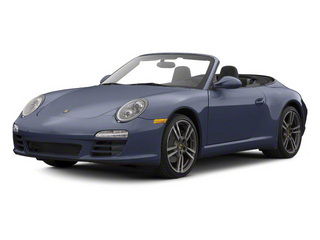Dark Blue Metallic 2011 Porsche 911 Pictures 911 Cabriolet 2D photos front view