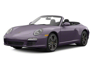 Amethyst Metallic 2011 Porsche 911 Pictures 911 Cabriolet 2D S photos front view