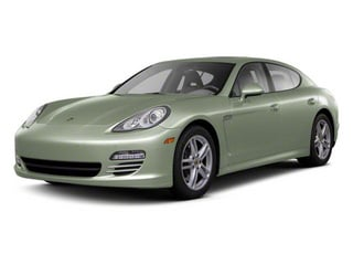 Crystal Green Metallic 2011 Porsche Panamera Pictures Panamera Hatchback 4D photos front view