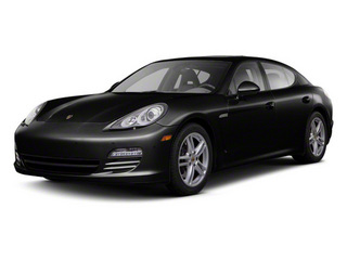Black 2011 Porsche Panamera Pictures Panamera Hatchback 4D photos front view