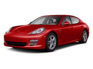 Ruby Red Metallic 2011 Porsche Panamera Pictures Panamera Hatchback 4D photos front view