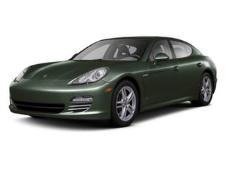 Jet Green Metallic 2011 Porsche Panamera Pictures Panamera Hatchback 4D photos front view