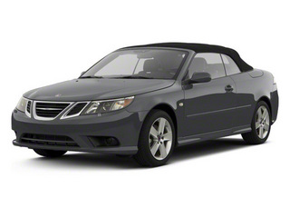 Carbon Gray Metallic 2011 Saab 9-3 Pictures 9-3 Convertible 2D Aero Turbo photos front view