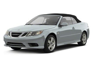 Glacier Silver Metallic 2011 Saab 9-3 Pictures 9-3 Convertible 2D Aero Turbo photos front view