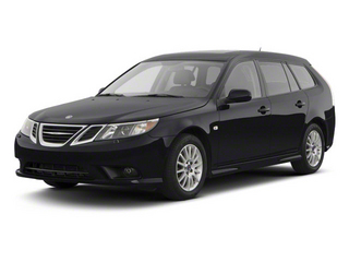 Black 2011 Saab 9-3 Pictures 9-3 Wagon 5D SportCombi Turbo photos front view