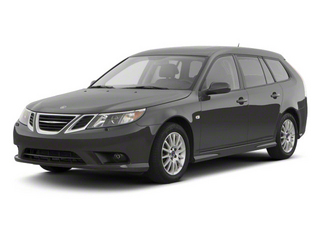 Carbon Gray Metallic 2011 Saab 9-3 Pictures 9-3 Wagon 5D SportCombi Turbo photos front view