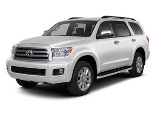 Super White 2011 Toyota Sequoia Pictures Sequoia Utility 4D Limited 4WD photos front view