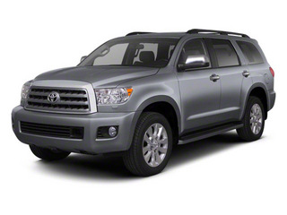 Silver Sky Metallic 2011 Toyota Sequoia Pictures Sequoia Utility 4D Limited 4WD photos front view
