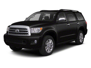 Black 2011 Toyota Sequoia Pictures Sequoia Utility 4D Limited 4WD photos front view