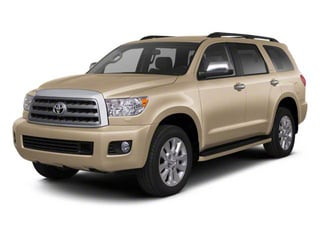 Sandy Beach Metallic 2011 Toyota Sequoia Pictures Sequoia Utility 4D Limited 4WD photos front view