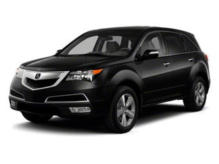 Crystal Black Pearl 2012 Acura MDX Pictures MDX Utility 4D Advance DVD AWD photos front view
