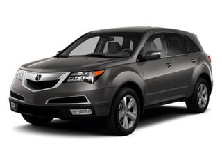 Grigio Metallic 2012 Acura MDX Pictures MDX Utility 4D Technology AWD photos front view