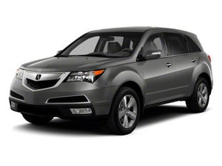 Polished Metal Metallic 2012 Acura MDX Pictures MDX Utility 4D Technology AWD photos front view