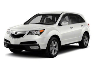 Aspen White Pearl II 2012 Acura MDX Pictures MDX Utility 4D Technology AWD photos front view