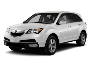 Bellanova White Pearl 2012 Acura MDX Pictures MDX Utility 4D Advance AWD photos front view