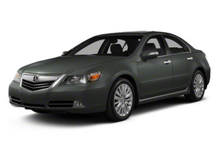 Graphite Luster Metallic 2012 Acura RL Pictures RL Sedan 4D Technology photos front view