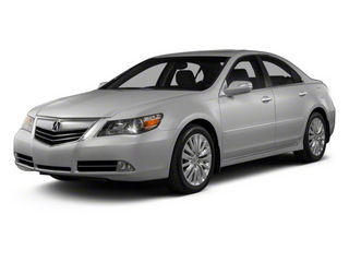 Forged Silver Metallic 2012 Acura RL Pictures RL Sedan 4D Technology photos front view