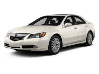 Alberta White Pearl 2012 Acura RL Pictures RL Sedan 4D Technology photos front view