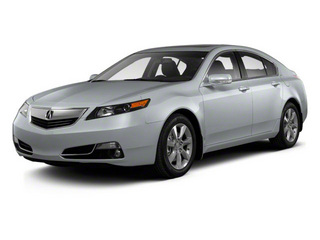 Forged Silver Metallic 2012 Acura TL Pictures TL Sedan 4D Advance photos front view