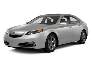 Silver Moon 2012 Acura TL Pictures TL Sedan 4D Advance AWD photos front view
