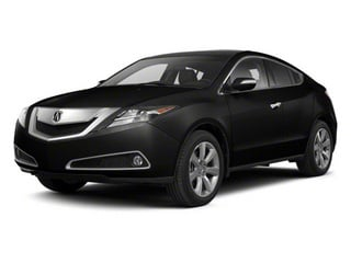 Crystal Black Pearl 2012 Acura ZDX Pictures ZDX Utility 4D Advance AWD photos front view