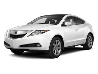 Aspen White Pearl II 2012 Acura ZDX Pictures ZDX Utility 4D Advance AWD photos front view