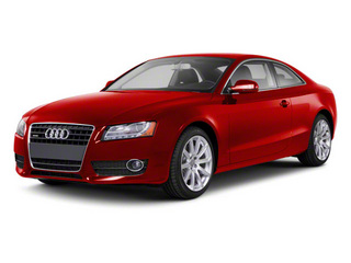 Brilliant Red 2012 Audi A5 Pictures A5 Coupe 2D Quattro photos front view