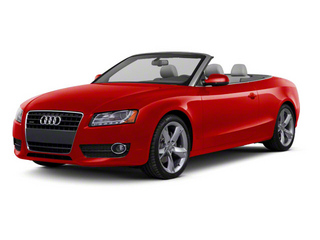 Brilliant Red 2012 Audi A5 Pictures A5 Convertible 2D Premium Plus photos front view