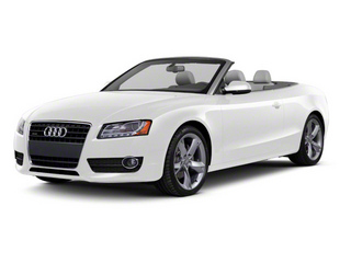 Ibis White 2012 Audi A5 Pictures A5 Convertible 2D Premium Plus photos front view