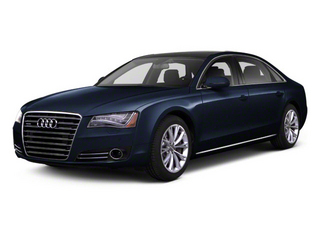 Night Blue Pearl 2012 Audi A8 L Pictures A8 L Sedan 4D 4.2 Quattro L photos front view